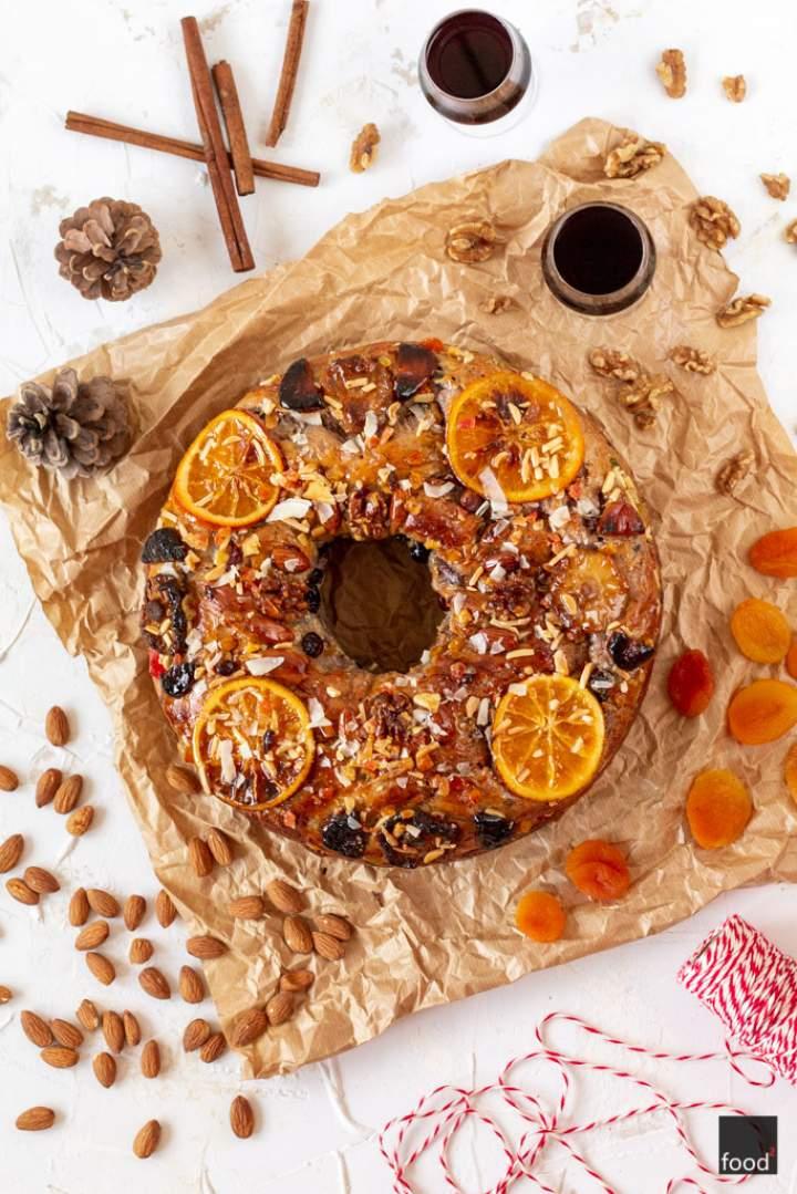 Bolo Rei – portugalskie królewskie ciasto bożonarodzeniowe