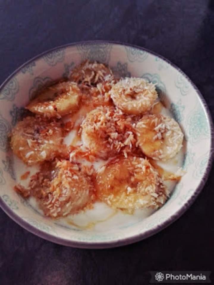 Jogurtowo bananowo-kokosowo