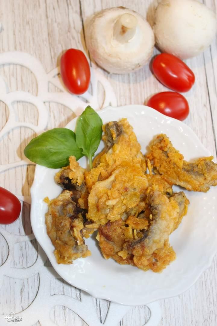 Chrupiąca pieczarkowa przekąska – idealna na przyjęcie