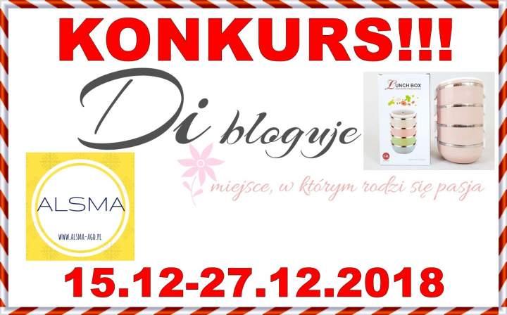 Konkurs – Di bloguje & Alsma – do wygrania termos obiadowy