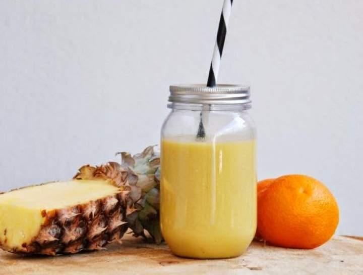 ananas + pomarańcza + awokado