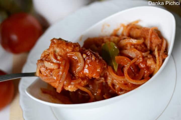Filety rybne w zalewie octowo-pomidorowej
