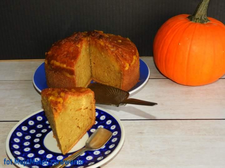 Ciasto dyniowe z imbirem, wanilią i pomarańczą