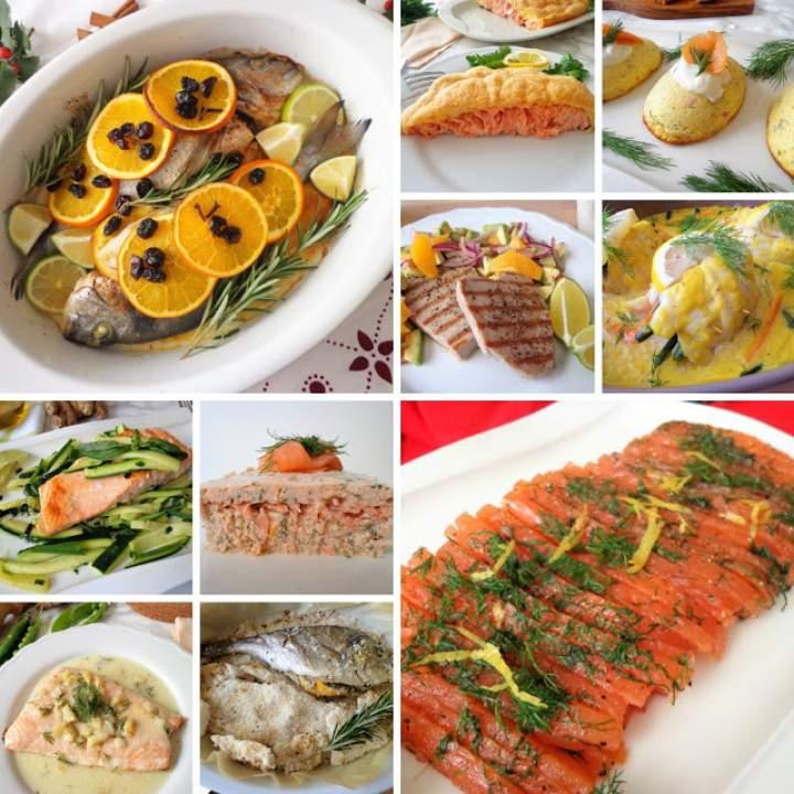 10 dań rybnych na Wigilię (10 secondi di pesce per la Vigilia di Natale)