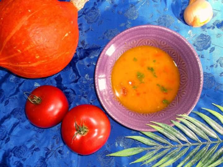 Zupa krem z dyni hokkaido