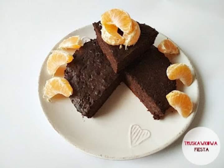 Marchewkowe ciasto czekoladowo-piernikowe