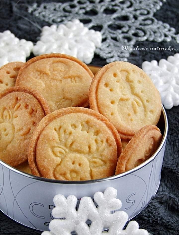 waniliowe ciastecza – stempelki