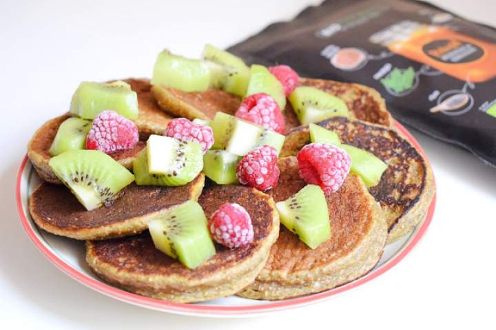 Śniadaniowe placuszki w wersji roślinnej