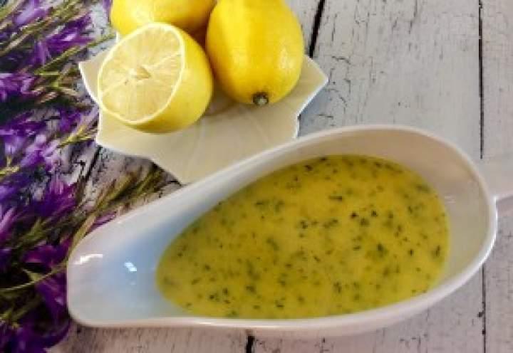Sos cytrynowy do ryby