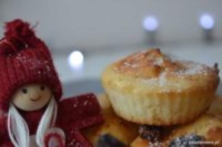 Muffiny serowe z żurawiną na słodko w 10 minut