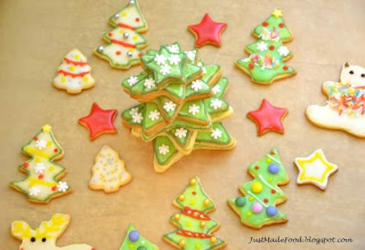 Świąteczna, ciasteczkowa choinka