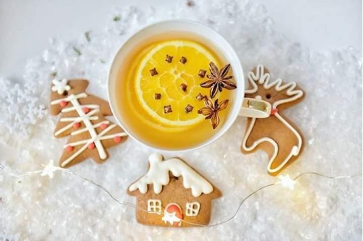 herbata + pomarańcza + goździki + anyż