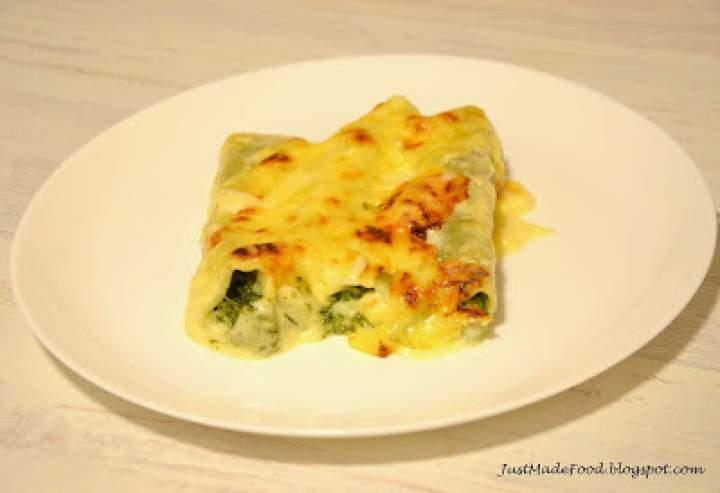 Cannelloni ze szpinakiem i gorgonzolą
