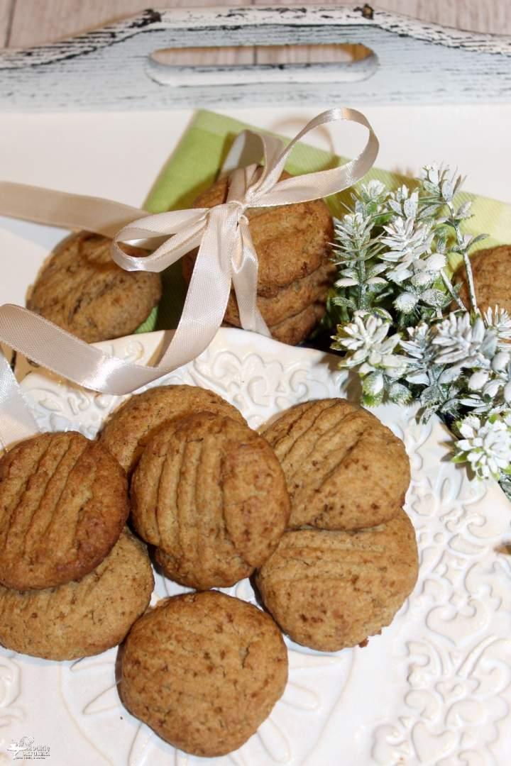 Żytnie ciasteczka z miodem