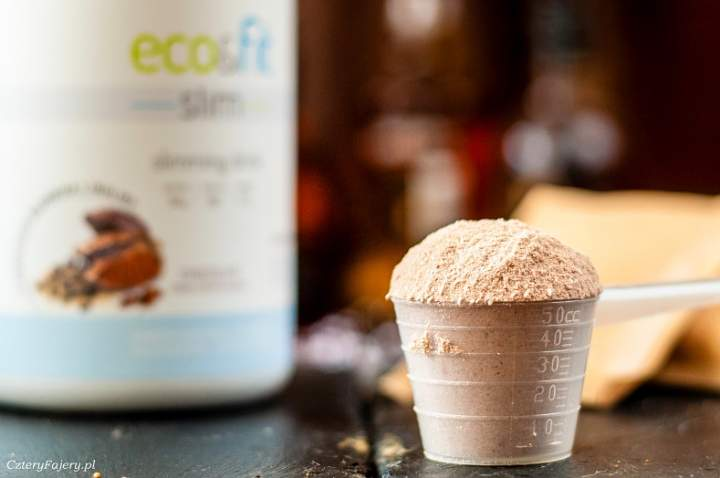 Koktajl białkowy Eco&Fit Slim – wsparcie w odchudzaniu