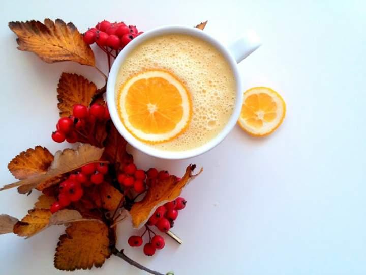 ananas + banan + mleko + pomarańcza