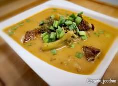 Zupa tajska z czerwonym curry