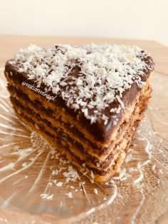 Tort twarogowy z patelni (fit)