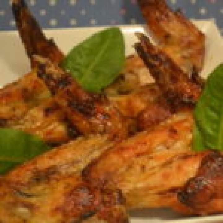 Imprezowe skrzydełka z cytryną, goździkami i miodem – paluchy lizać ;)