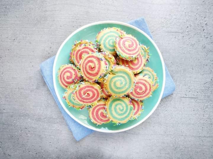 Zakręcone kruche ciasteczka