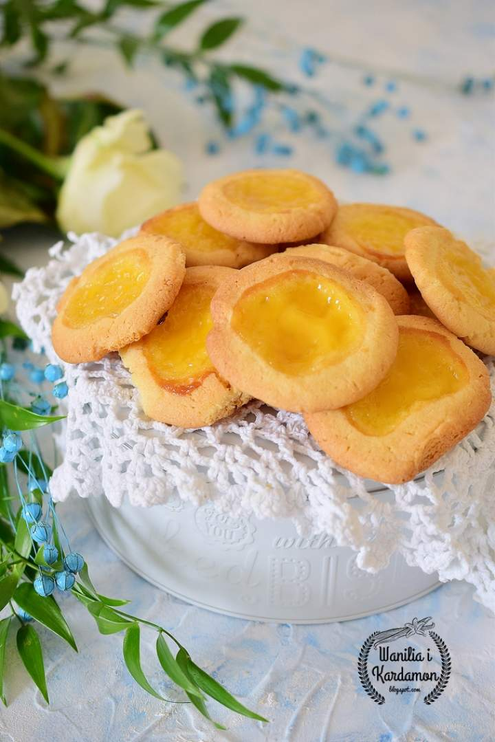 """Ciasteczka """"Cytrynowe słoneczka"""""""