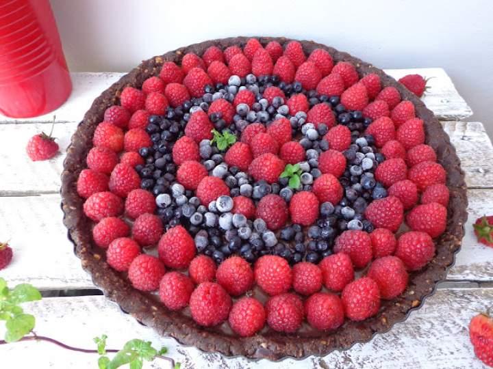 Prosta czekoladowa tarta z 7 składników