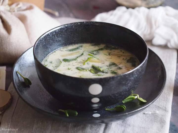 Zupa z cukinią i fasolką / Zucchini and green bean soup