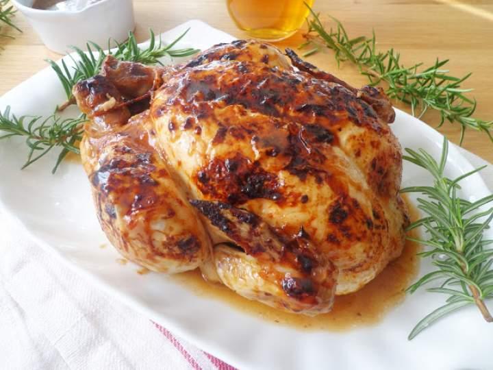 Kurczak pieczony w piwie (Pollo alla birra al forno)