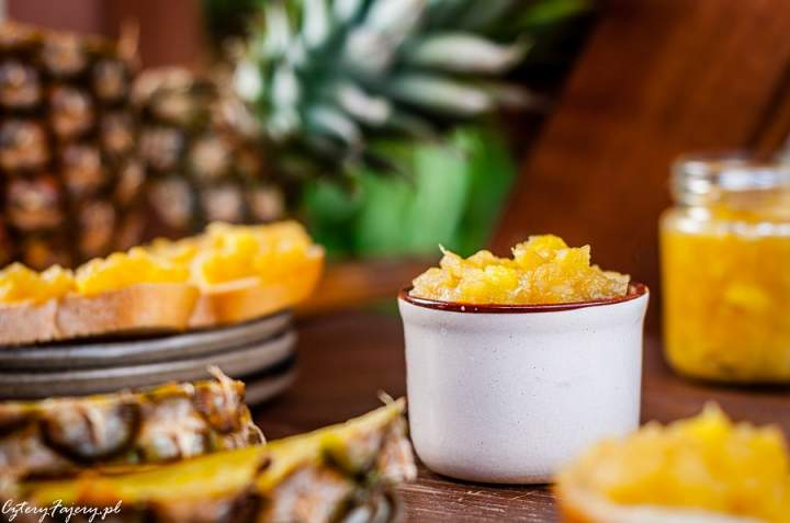 Konfitura jabłkowo – ananasowa
