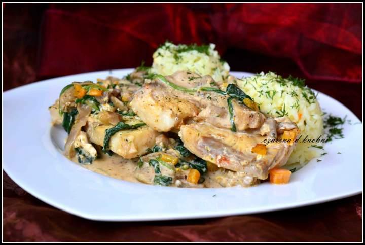 Ryba w sosie warzywnym