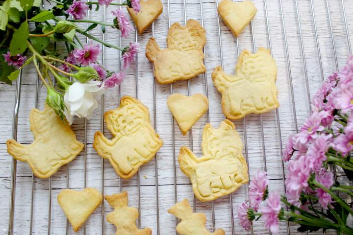 Kruche waniliowe ciasteczka