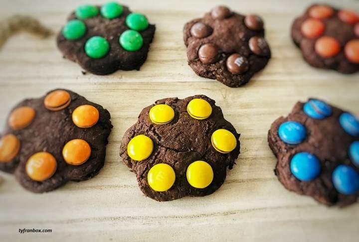 Ciasteczka czekoladowe z M&Ms
