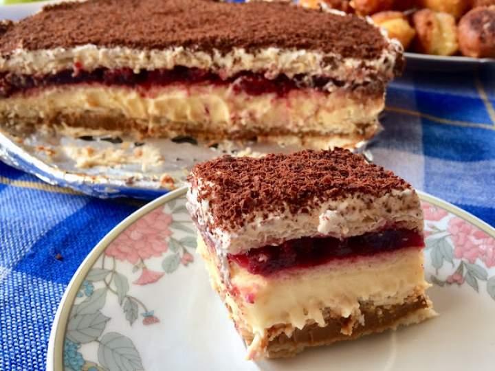 Ciasto 3 bit – prosty przepis na ciasto bez pieczenia