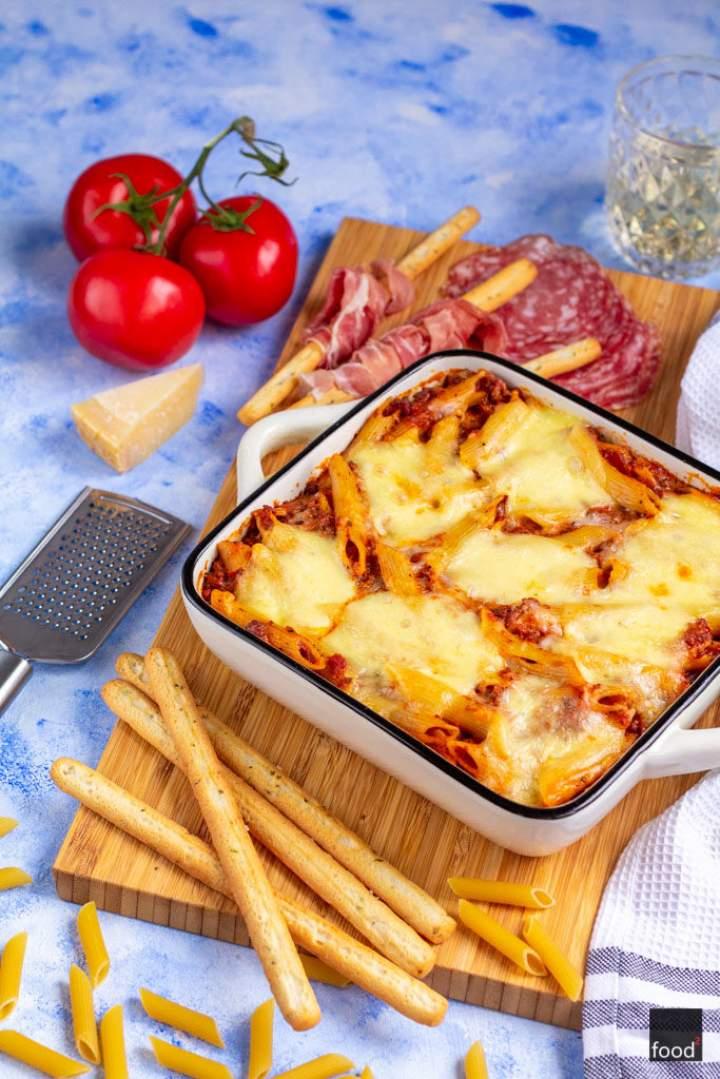 Pasta al forno – włoska zapiekanka makaronowa