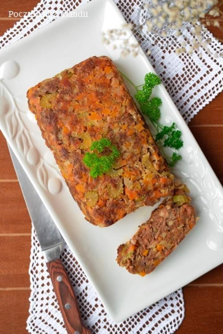 Meat loaf, czyli klops wołowo-warzywny