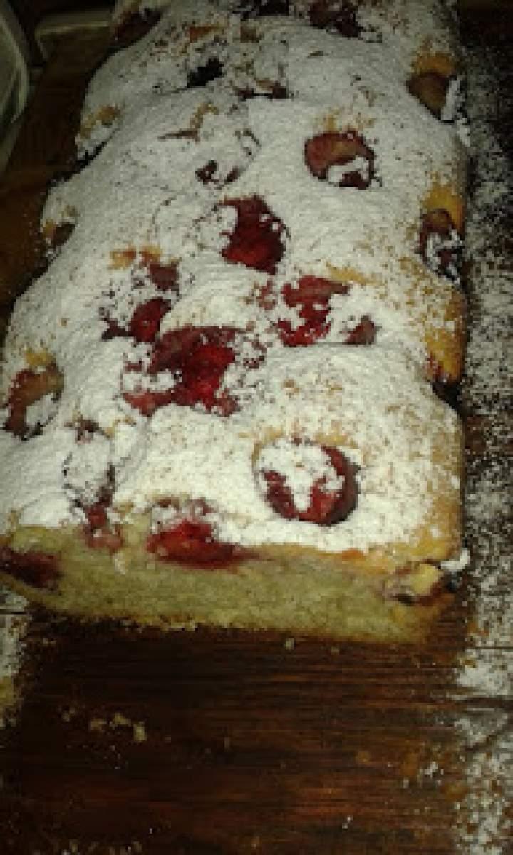 Truskawkowe ciasto Eli