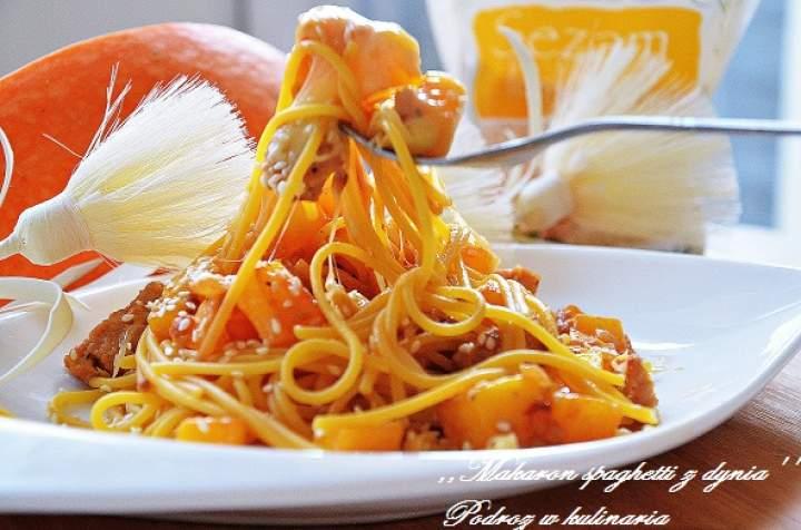 ,,Spaghetti z dynią''