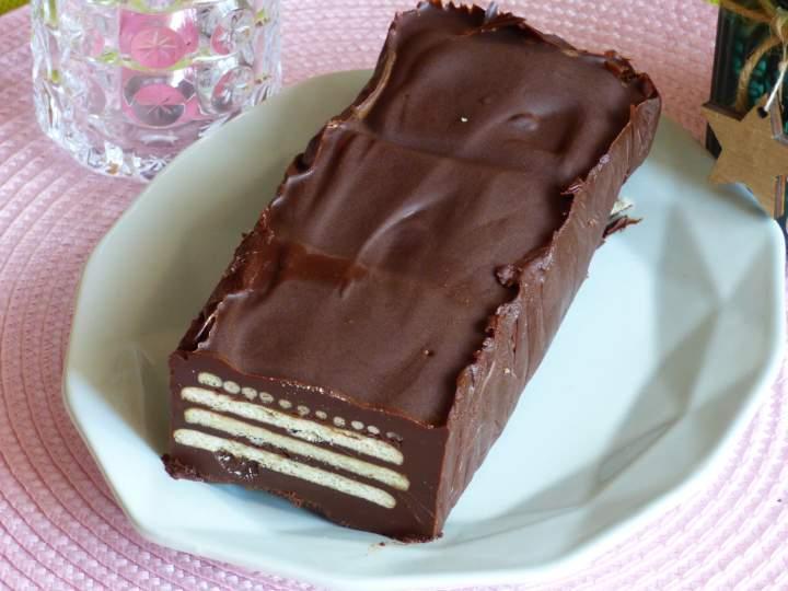 Blok czekoladowy na styl niemiecki