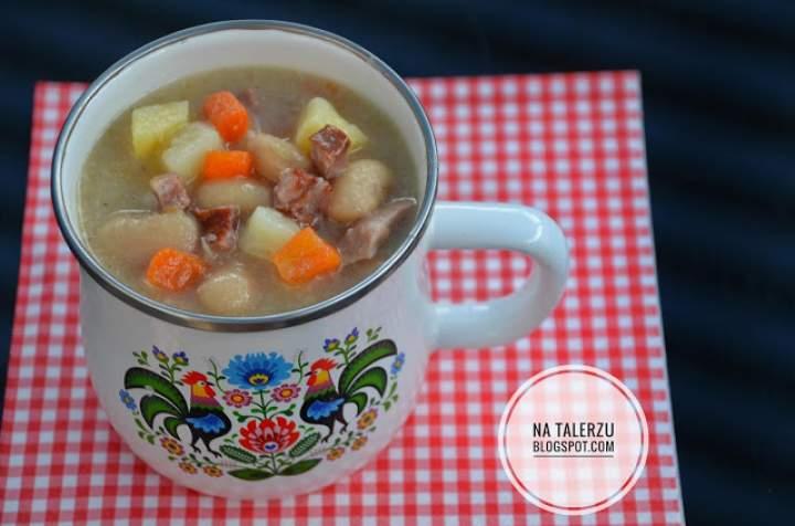 Słodko – kwaśna zupa fasolowa