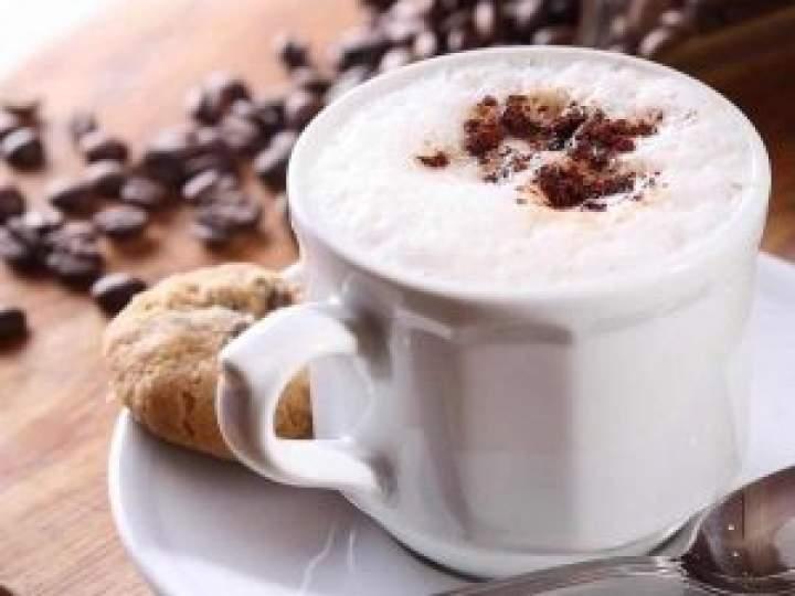 Kokosowe latte.