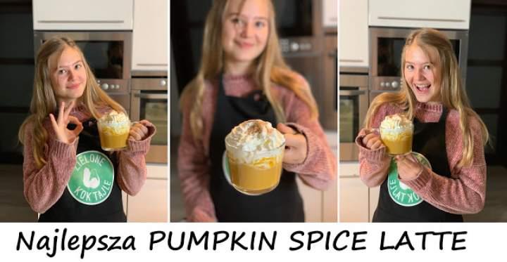 Najlepsza PUMPKIN SPICE LATTE, zdrowa wersja kawy dyniowej