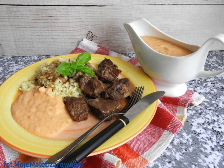 Wołowina w sosie owocowym – Carne con Salsa de Frutas