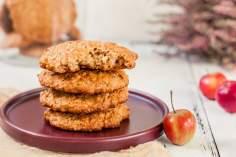 Ciasteczka Owsiane Na Musie Jabłkowym
