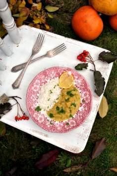 Curry z dyni (wegańskie, bez glutenu)