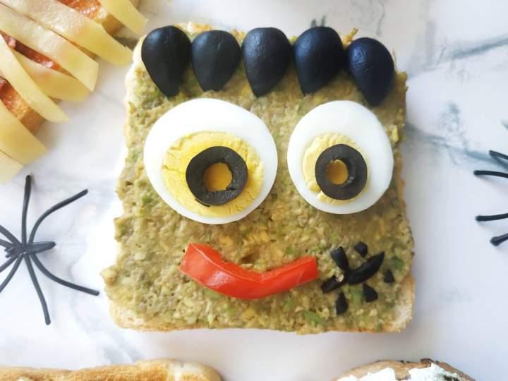 Strrrasznie halloweenowe tosty!