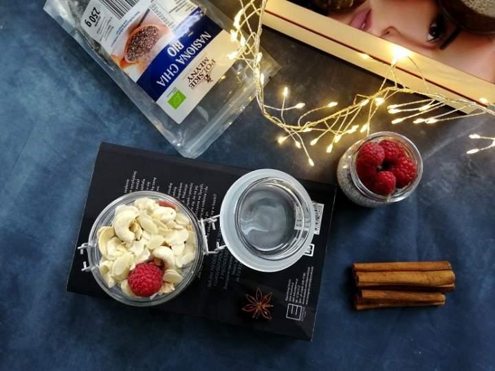 Waniliowo-kakaowy pudding chia
