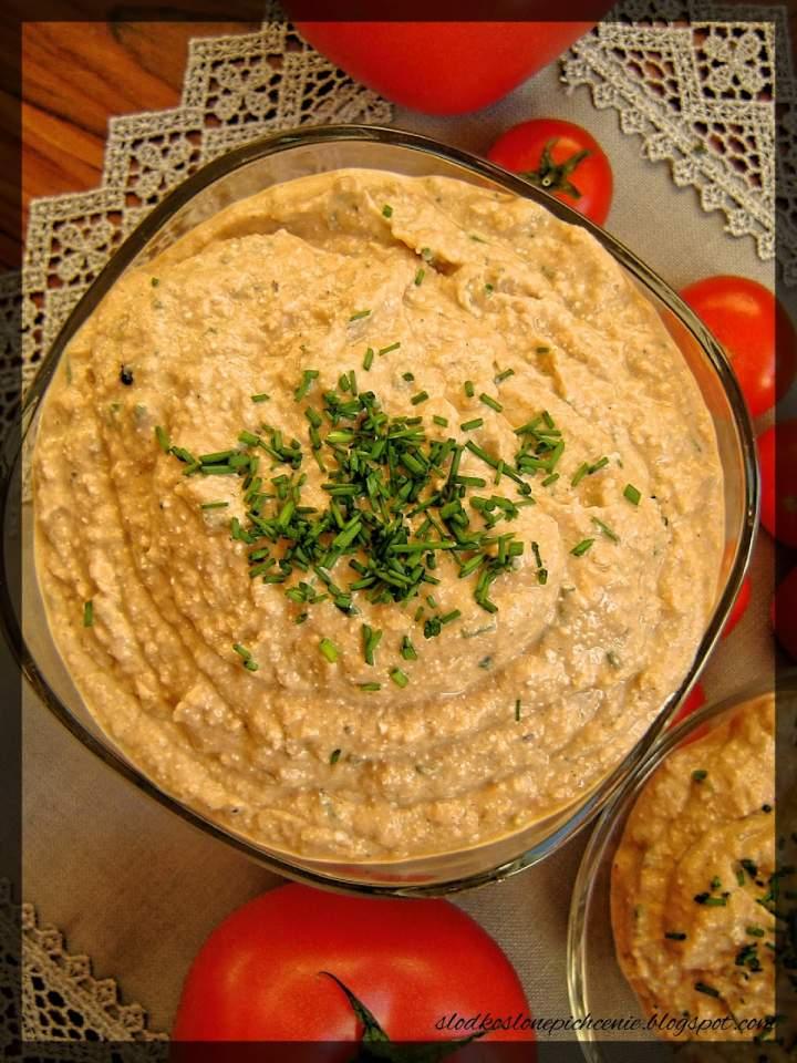Pasta ze szprotkami i białym serem