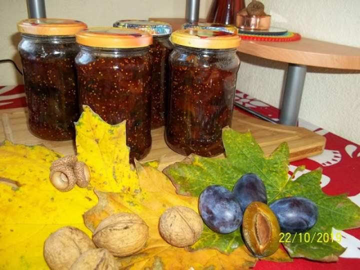 Dżem śliwkowo – figowy