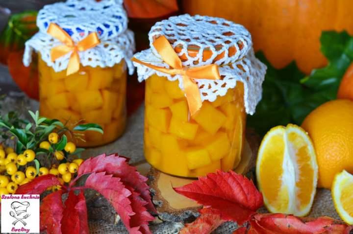 Marynowana dynia z nutą pomarańczy