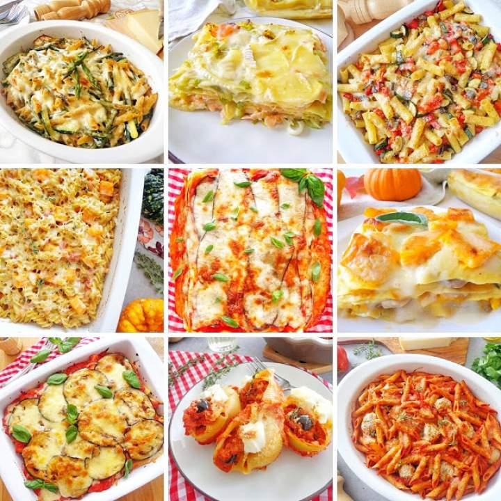 10 zapiekanek makaronowych (10 ricette per pasta al forno)